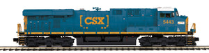 "MTH 20-20922-1 - ES44DC Diesel Engine ""CSX"" #5443 w/ PS3 (Hi-Rail Wheels)"