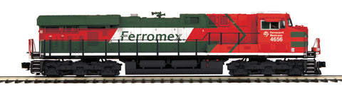 "MTH 20-20924-1 - ES44AC Diesel Engine ""Ferromex"" #4656 w/ PS3 (Hi-Rail Wheels)"
