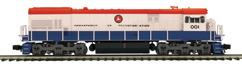 "MTH 20-20925-1 - GE U30C Diesel Engine ""Department of Transportation"" w/ PS3 (Hi-Rail Wheels)"