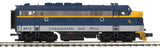 "MTH 20-20940-1 - F-3 A Unit Diesel Engine ""Chesapeake & Ohio"" #8016 w/ PS3 (Hi-Rail Wheels)"
