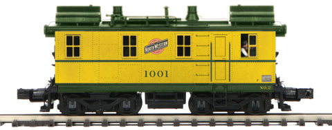 "MTH 20-20950-1 - Alco-GE-Ingersol Rand Box Cab Diesel Engine ""Chicago North Western"" #1001 w/ PS3"