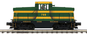 "MTH 20-20970-1 - G.E. 44 Ton Phase 3 Diesel Engine ""Hoboken Shore Railroad"" w/ PS3 (Hi-Rail Wheels)"