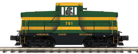 "MTH 20-20971-1 - G.E. 44 Ton Phase 3 Diesel Engine ""Hoboken Shore Railroad"" w/ PS3 (Hi-Rail Wheels)"