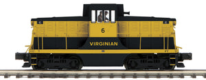 "MTH 20-20976-1 - G.E. 44 Ton Phase 1c Diesel Engine ""Virginian"" #6 w/ PS3 (Hi-Rail Wheels)"