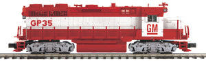"MTH 20-20978-1 - GP-35 Low Hood Diesel Engine ""Electro Motive Division"" #1965 w/ PS3 (Hi-Rail Wheels)"