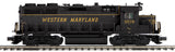 "MTH 20-20981-1 - GP-35 Low Hood Diesel Engine ""Western Maryland"" #3579 w/ PS3 (Hi-Rail Wheels)"