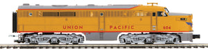 "MTH 20-21001-4 - Alco PA A Unit Non-Powered Diesel Engine ""Union Pacific"" #604 (Hi-Rail Wheels)"