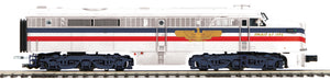 "MTH 20-21003-4 - Alco PA A Unit Non-Powered Diesel Engine ""American Freedom"" #1949 (Hi-Rail Wheels)"
