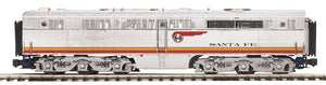 "MTH 20-21004-3 - Alco PA B-Unit Diesel ""Santa Fe"" #58 (Non-Powered)"