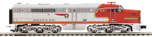 "MTH 20-21005-4 - Alco PA A Unit Non-Powered Diesel Engine ""Santa Fe"" #58 (Hi-Rail Wheels)"