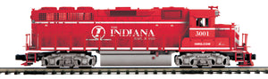 "MTH 22-21018-2 - GP-40 Diesel Engine ""Indiana Railroad"" w/ PS3 (Scale Wheels)"