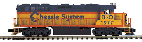 "MTH 20-21026-1 - GP-40 Diesel Engine ""Chessie"" w/ PS3 (Hi-Rail Wheels)"