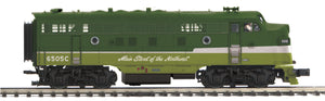 "MTH 20-21028-1 - F-3 A Unit Diesel Engine ""Northern Pacific"" w/ PS3 (Hi-Rail Wheels)"