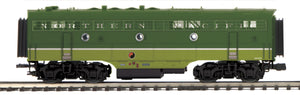 "MTH 20-21028-3 - F-3 B-Unit Diesel ""Northern Pacific"" (Non-Powered)"