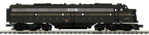 "MTH 20-21053-1 - E-8 A Unit Diesel Engine ""Pennsylvania"" #5885 w/ PS3 (Hi-Rail Wheels)"