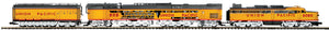 "MTH 20-21054-1 - Coal Turbine Locomotive ""Union Pacific"" w/ PS3 #80"