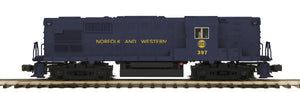 "MTH 20-21073-1 - RS-11 High Hood Diesel Engine ""Norfolk & Western"" w/ PS3"