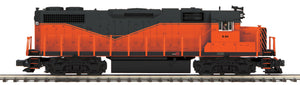 "MTH 20-21075-1 - GP38-2 Diesel Engine ""Armco Steel"" w/ PS3 (Hi-Rail Wheels)"