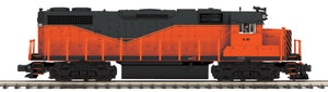 "MTH 20-21076-1 - GP38-2 Diesel Engine ""Armco Steel"" w/ PS3 (Hi-Rail Wheels)"