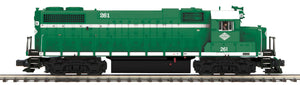 "MTH 20-21079-1 - GP38-2 Diesel Engine ""New York & Atlantic Railway"" #261 w/ PS3 (Hi-Rail Wheels)"