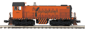 "MTH 20-21083-1 - Alco S-2 Switcher Diesel Engine ""Youngstown Sheet & Tube"" #1004 w/ PS3"