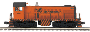 "MTH 20-21084-1 - Alco S-2 Switcher Diesel Engine ""Youngstown Sheet & Tube"" w/ PS3"