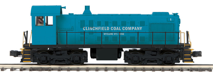 "MTH 20-21087-1 - Alco S-2 Switcher Diesel Engine ""Clinchfield Coal Company"" #1 w/ PS3"