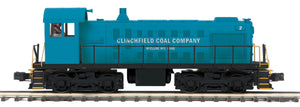 "MTH 20-21088-1 - Alco S-2 Switcher Diesel Engine ""Clinchfield Coal Company"" #2 w/ PS3"