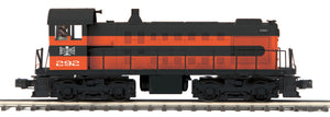 "MTH 20-21089-1 - Alco S-2 Switcher Diesel Engine ""Bessemer & Lake Erie"" #292 w/ PS3"