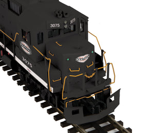 "MTH 20-21091-1 - GP-40 Diesel Engine ""New York Central"" #3075 w/ PS3 (Hi-Rail Wheels)"