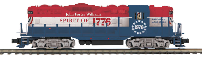 "MTH 20-21101-1 - GP-9 Diesel Engine ""Bangor & Aroostook"" #1976 John Foster Williams w/ PS3"