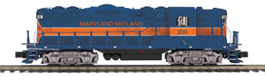 "MTH 20-21106-1 - GP-9 Diesel Engine ""Maryland Midland"" #200 w/ PS3"