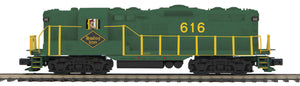"MTH 20-21109-1 - GP-7 Diesel Engine ""Reading"" #616 w/ PS3"