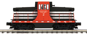 "MTH 20-21114-1 - G.E. 44 Ton Phase 1c Diesel Engine ""Springfield Terminal"" #2 w/ PS3 (Hi-Rail Wheels)"