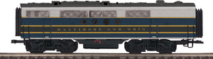 "MTH 20-21133-3 - FT B-Unit Diesel ""Baltimore & Ohio"" #103X (Non-Powered)"