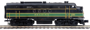 "MTH 20-21137-1 - FT A Unit Diesel Engine ""Reading"" #256A w/ PS3 (Hi-Rail Wheels)"