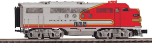"MTH 20-21140-1 - FT A Unit Diesel Engine ""Santa Fe"" #168C w/ PS3 (Hi-Rail Wheels)"