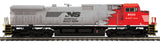 "MTH 20-21152-1 - Dash-9 Diesel Engine ""Norfolk Southern"" w/ PS3 (Hi-Rail Wheels)"