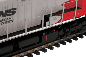 "MTH 20-21152-1 - Dash-9 Diesel Engine ""Norfolk Southern"" #8520 w/ PS3 (Hi-Rail Wheels)"