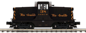 MTH 20-21385-1 Rio Grande G.E. 44 Ton Phase 1 Diesel Engine w/Proto-Sound 3.0 (Hi-Rail Wheels)