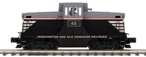 MTH 20-21387-1 Washington & Old Dominion G.E. 44 Ton Phase 1 Diesel Engine w/Proto-Sound 3.0 (Hi-Rail Wheels)