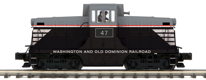 MTH 20-21388-1 Washington & Old Dominion G.E. 44 Ton Phase 1 Diesel Engine w/Proto-Sound 3.0 (Hi-Rail Wheels)