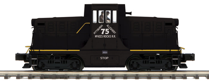 MTH 20-21391-1 Pittsburgh Allegheny McKees Rocks G.E. 44 Ton Phase 1 Diesel Engine w/Proto-Sound 3.0 (Hi-Rail Wheels)