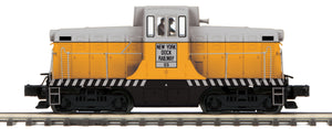 MTH 20-21393-1 New York Dock Railroad G.E. 44 Ton Phase 3 Diesel Engine w/Proto-Sound 3.0 (Hi-Rail Wheels)