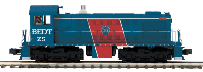 MTH 20-21396-1 Brooklyn Eastern District Terminal Alco S-2 Switcher Diesel Engine w/Proto-Sound 3.0