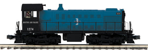 "MTH 20-21401-1 - Alco S-2 Switcher Diesel Engine ""Boston & Maine"" w/ PS3"