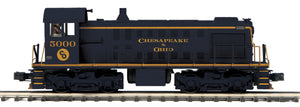 MTH 20-21405-1 Chesapeake & Ohio Alco S-2 Switcher Diesel Engine w/Proto-Sound 3.0