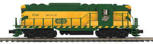 MTH 20-21407-1 Chicago North Western GP-7 Diesel Engine With Proto-Sound 3.0