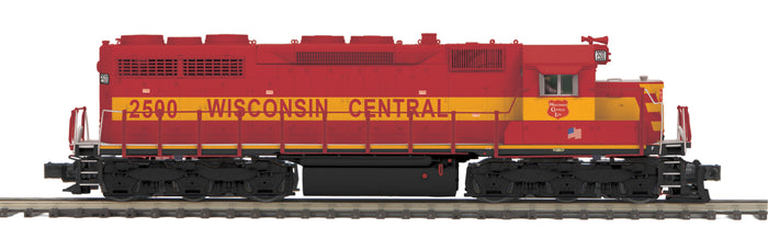 MTH 20-21431-1 Wisconsin Central SD-35 Diesel Engine w/Proto-Sound 3.0 (Hi-Rail Wheels)