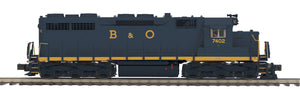 MTH 20-21435-1 Baltimore & Ohio SD-35 Diesel Engine w/Proto-Sound 3.0 (Hi-Rail Wheels)